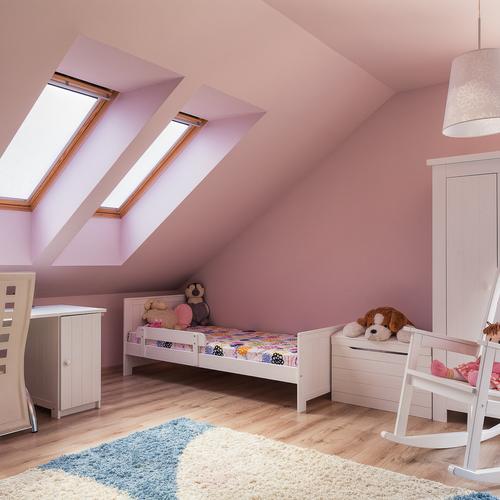 am nager une chambre d 39 enfant dans un petit espace ooreka. Black Bedroom Furniture Sets. Home Design Ideas
