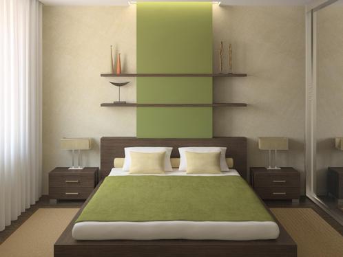 Chambre Couleur Vert Amande : Couleur Peinture Chambre Quelle Dans Une