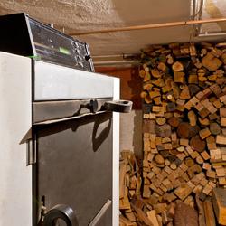 Chaudière bois-charbon