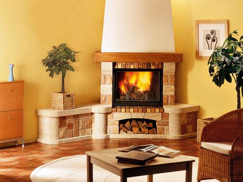 Cheminee en pierre tout savoir sur la chemin e en pierre - Comment nettoyer une pierre blanche de cheminee ...