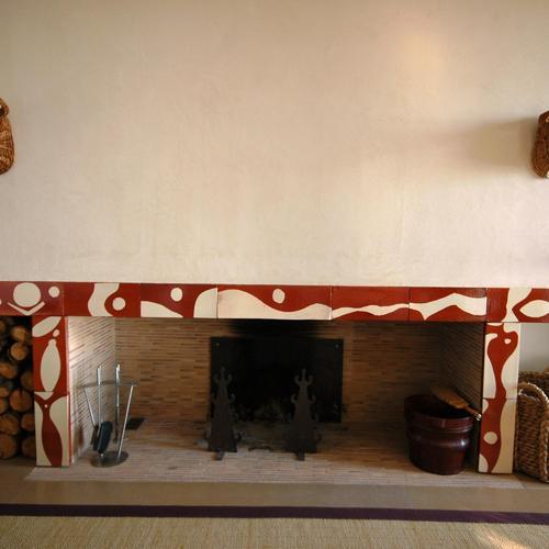 cheminée en plâtre