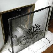 cheminée éteinte