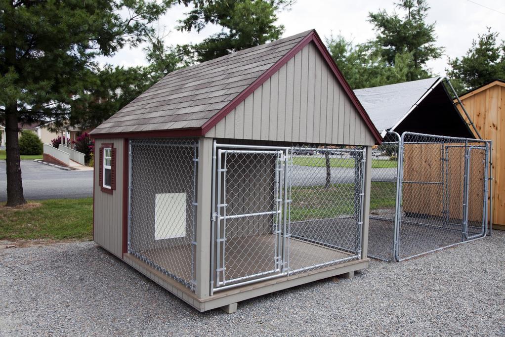 chenil pour chien caract ristiques mod les et prix ooreka. Black Bedroom Furniture Sets. Home Design Ideas