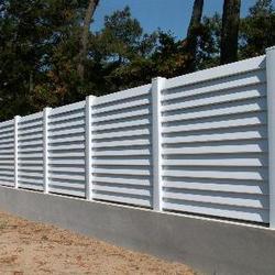 Soubassement d'une clôture
