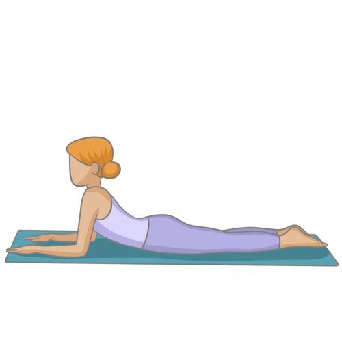 Bhujangâsana : la position du Cobra - Yoga