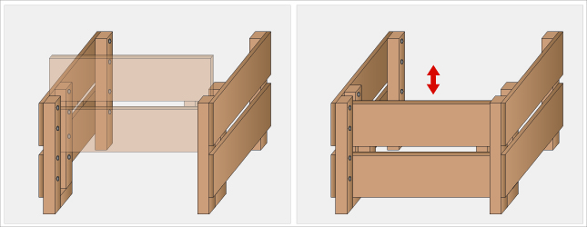 faire un composteur ooreka. Black Bedroom Furniture Sets. Home Design Ideas