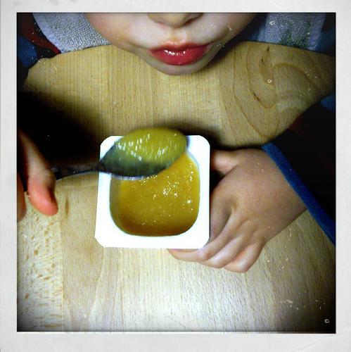 Utilisez de la compote de pommes