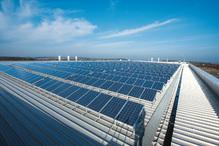 Ensemble de panneaux photovoltaïques Conergy