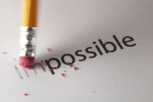 possible impossible crayon gomme