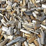 bois en  plaquettes ou copeaux