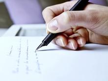 Rédiger un courrier
