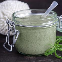 Crème à base d'algues