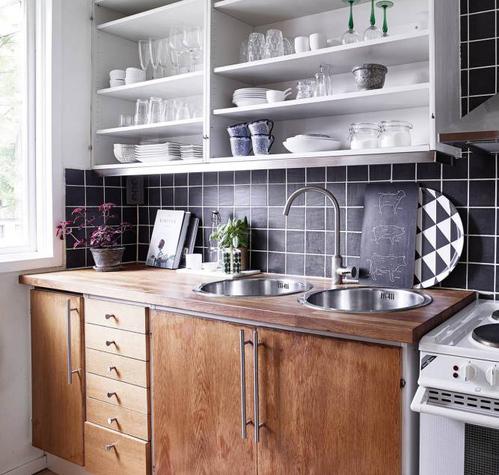 Relooker meuble cuisine meuble cuisine avec jaune couleur - Changer la couleur de sa cuisine ...