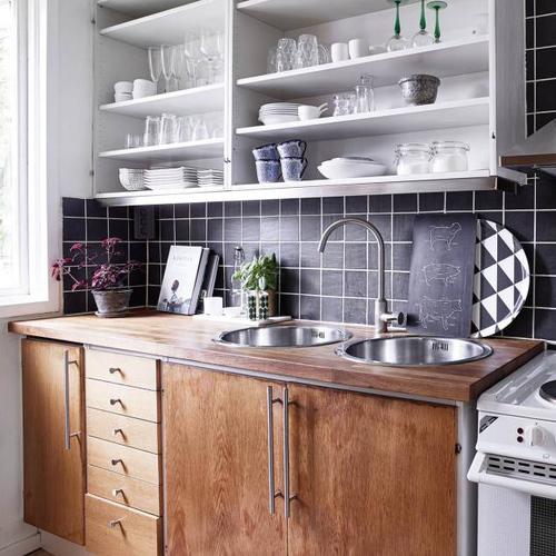 relooker une cuisine 8 astuces ooreka. Black Bedroom Furniture Sets. Home Design Ideas