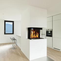 R sistance au feu des plaques de pl tre for Cheminee cuisine moderne