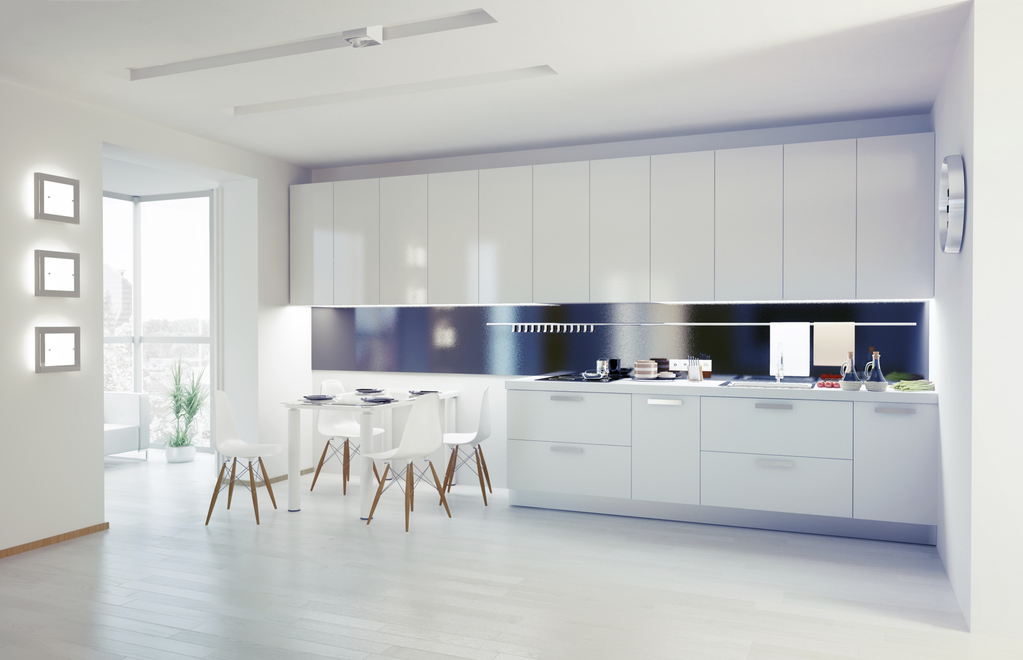 Hotte plafond avantages et prix de la hotte plafond for Plafond de cuisine gris