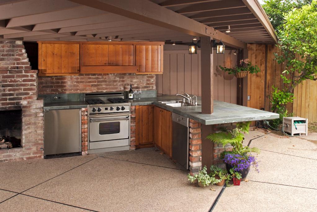 abri barbecue quel mat riau et prix pour son abri de. Black Bedroom Furniture Sets. Home Design Ideas