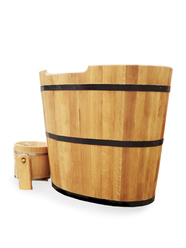 sauna infos et prix de la cuve d immersion pour sauna. Black Bedroom Furniture Sets. Home Design Ideas