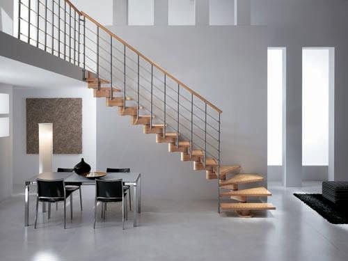 Quel revêtement mural dans une cage d'escalier ?