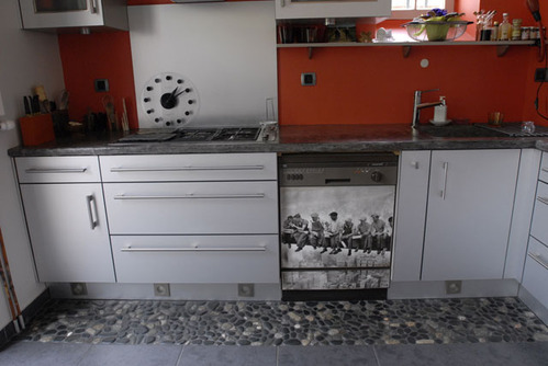 Carrelage de cuisine cuisine sol pvc carrelage de cuisines - Sol vinyl cuisine ...