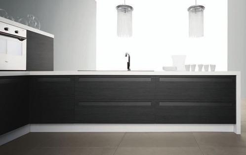 Photo le guide de la cuisine noir et blanc pour une for Cuisine en noir et blanc