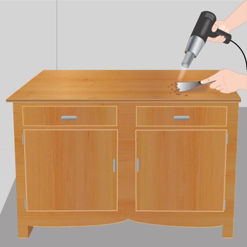D caper un meuble d coration for Decaper un meuble ancien