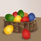 Teindre des œufs de Pâques