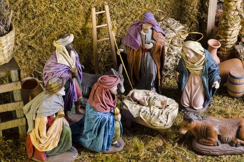 Crèche de Noël : personnages, achat et prix   Ooreka