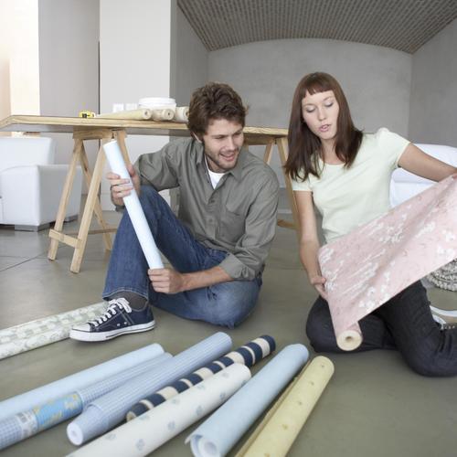 D corer un meuble avec du papier peint papier peint - Decorer un meuble ...