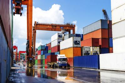 Déménagement avec des containers
