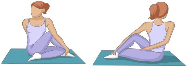 """Résultat de recherche d'images pour """"posture torsion assise"""""""