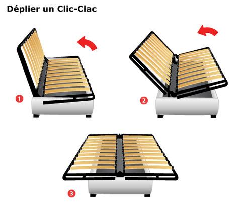Clic clac prix et mod les ooreka for Canape lit clic clac ikea