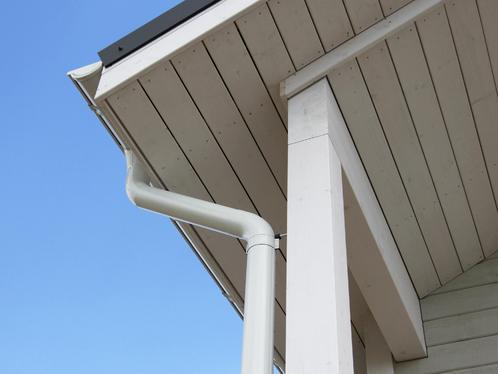 Dessous de toit objectif et mode de fixation des dessous for Peindre frisette
