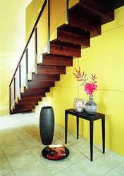 dessous escalier droit en bois
