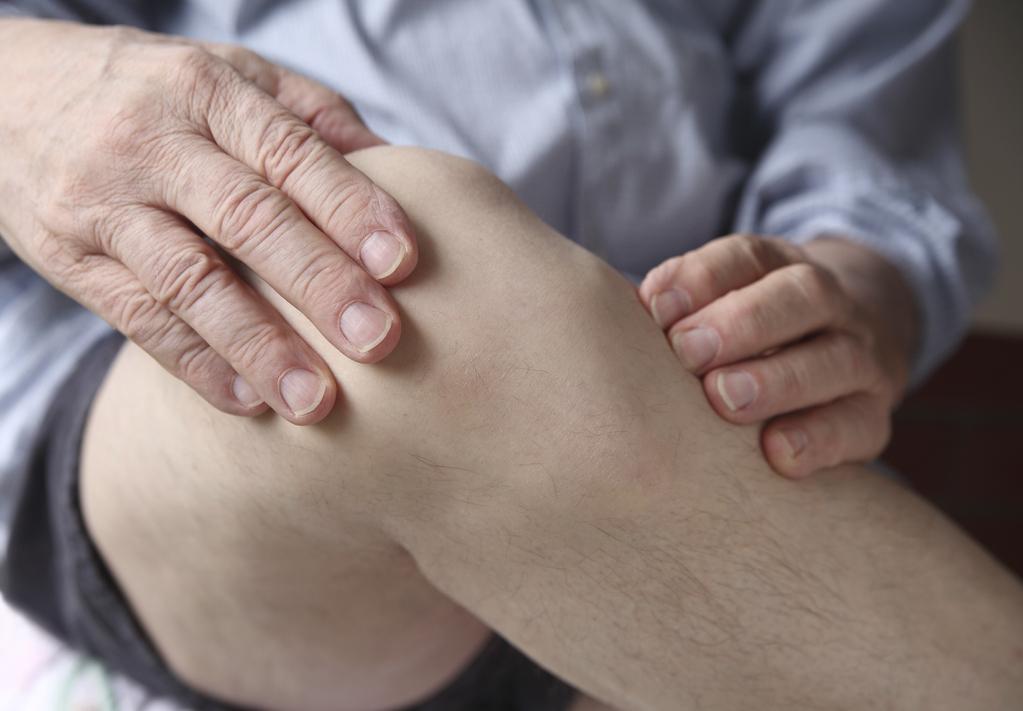 Gonflement du genou