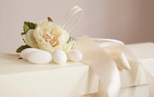 Dragées blancs pour le mariage