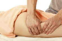 Massage palpe cuisse