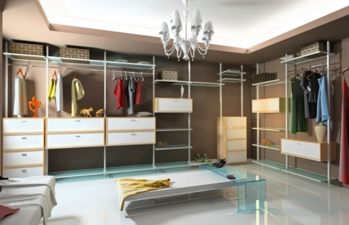 Dressing moderne pour une ambiance design