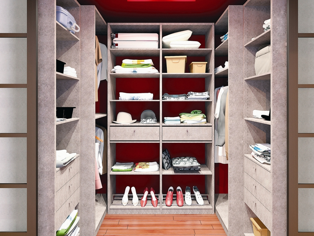 Dressing pour petite chambre conseils et astuces ooreka - Rangement dans petite chambre ...
