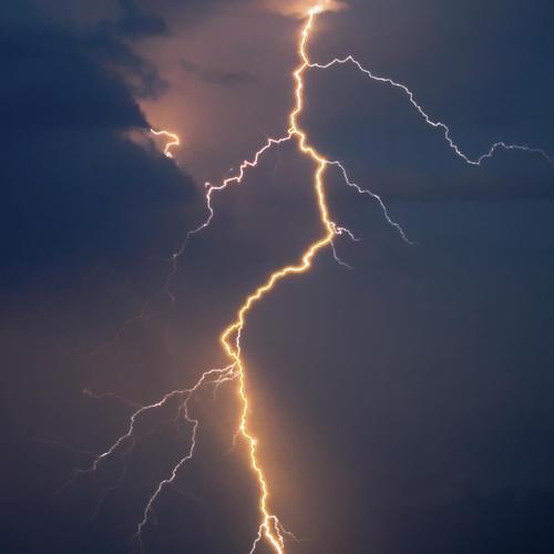 En cas d'orage, peu de risques