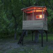 comment construire une cabane dans les arbres ooreka. Black Bedroom Furniture Sets. Home Design Ideas