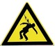 Symbole risque d'électrocution