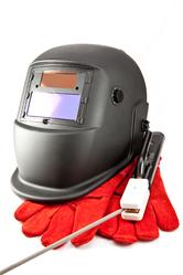 Masque gants et electrode