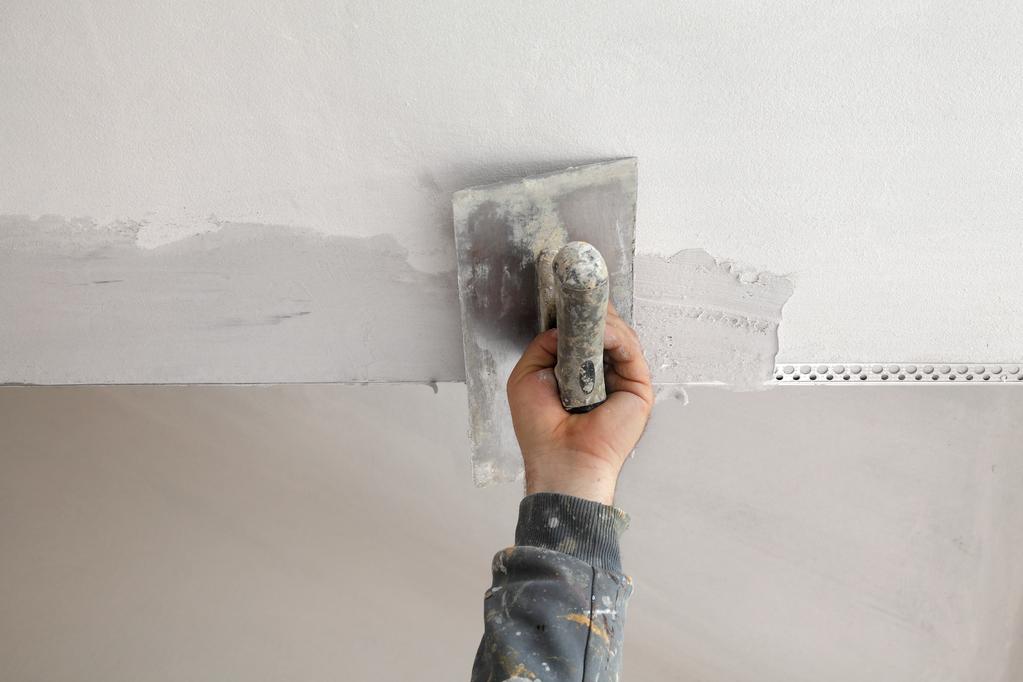 Enduit garnissant caract ristiques et application ooreka - Enduit mur parpaing interieur ...