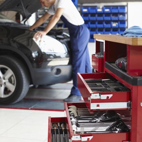 L'inspection du garage