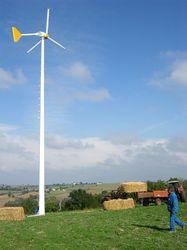 Taille de l'éolienne