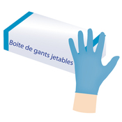 Gants en latex jetables