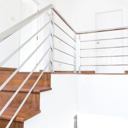 Main courante d'escalier en inox