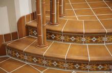 Contremarche d'escalier