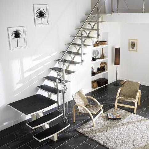 acheter un escalier pas cher ooreka. Black Bedroom Furniture Sets. Home Design Ideas